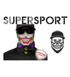 SUPERSPORT Joker Outdoor Sports Motorcycle Bicycle Riding Fishing Windproof Skull Mouth Mask Magic Muffler Scarf Headband Headface