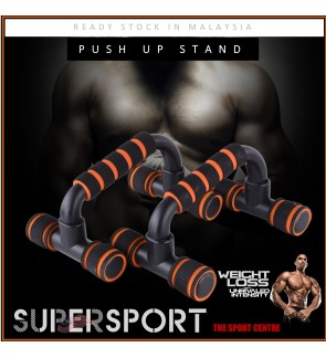 READY STOCK MALAYSIA Push Up Bar Stands Fitness Equipment Home Gym Bars Muscle Training Body Building