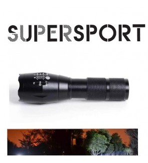 (FREE GIFTS) SUPERSPORT Ultrafire Brightest CREE XML-T6 T6 LED Zoomable Torchlight Flashlight with 5 Mode