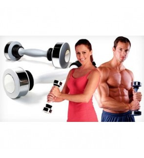 (FREE WORKOUT DVD) SUPERSPORT Shake Weight Dumbbell Shoulder Muscle Builder Fitness Exercise for Unisex
