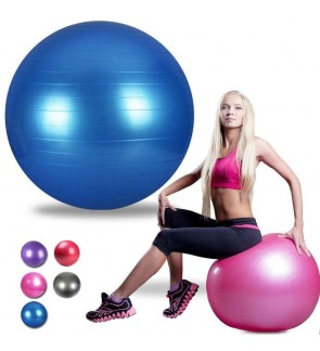 SUPERSPORT High Quality Yoga Ball Gym Fitness Exercise + FREE Pump