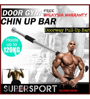PREMIUM Top Grade Pull Up Door Way Gym Chin Up Bar Doorway Exercise Fitness Workout Fitness MALAYSIA