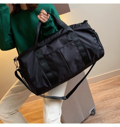 SUPERSPORT Lightweight Soft Nylon Duffel Gym Sports Small Duffle Shoes Bag