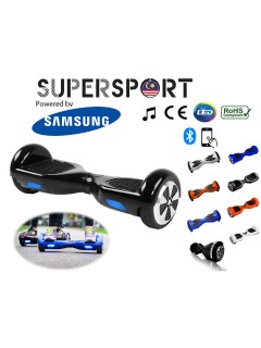 SUPERSPORT HOVERBOARD 6.5 Inch / 8 Inch Smart Electric Balance Wheel Two Flashing Wheel Self Balancing Bluetooth Scooter Airway Powered by Samsung