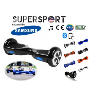 SUPERSPORT HOVERBOARD 6.5 Inch / 8 Inch Smart Electric Balance Wheel Two Flashing Wheel Self Balancing Bluetooth Scooter Airway
