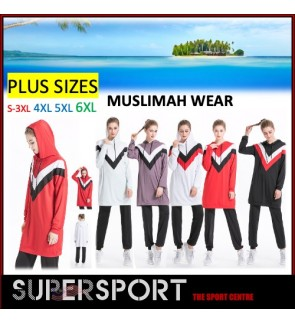 Y015 SUPERSPORT Muslimah Sport Hijab Jumpsuit Wear Islamic Summer with tops