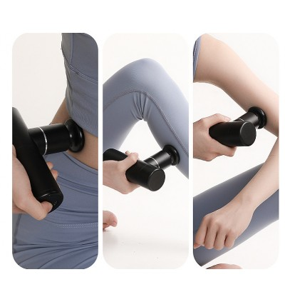 Booster Mini Original 2020 New Model Portable Strong pressure muscle relax pain relief toxic release massage Gun ( 1 year warranty) Therapy Handheld Massager