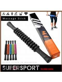 SUPERSPORT Massage Stick Muscle Roller Massager Physiotherapy Body Massage Fitness Yoga Roller Muscle Relax MM4