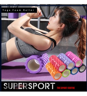 SUPERSPORT Yoga Foam Roller EVA Muscle Massage Gym Yoga Exercise Fitness Physiotherapy Massage Equipment