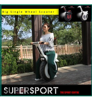 """18"""" Big Single Wheel Scooter One Wheel Self-Balancing Adult Electric Motorcycle Scooter With Seat 60V Electric Unicycle Scooter"""